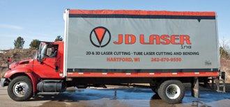JD Laser Truck